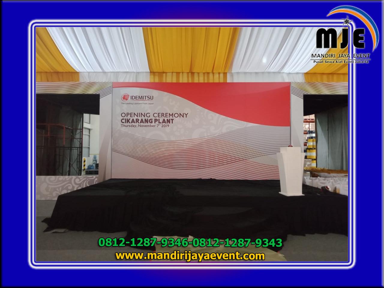Jasa Sewa Backdrop Rapi Jakarta Pusat